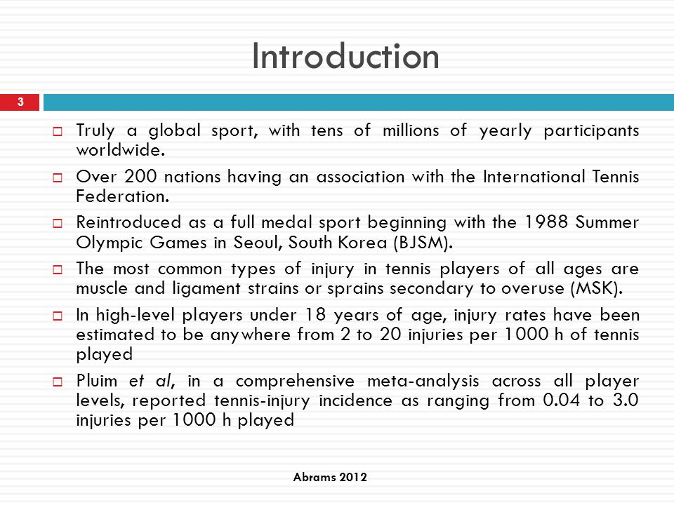 results Level of play Baxter-Jones et al 1993, elite young athletes.