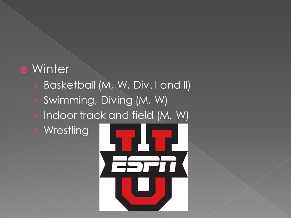 Winter Basketball (M, W, Div.