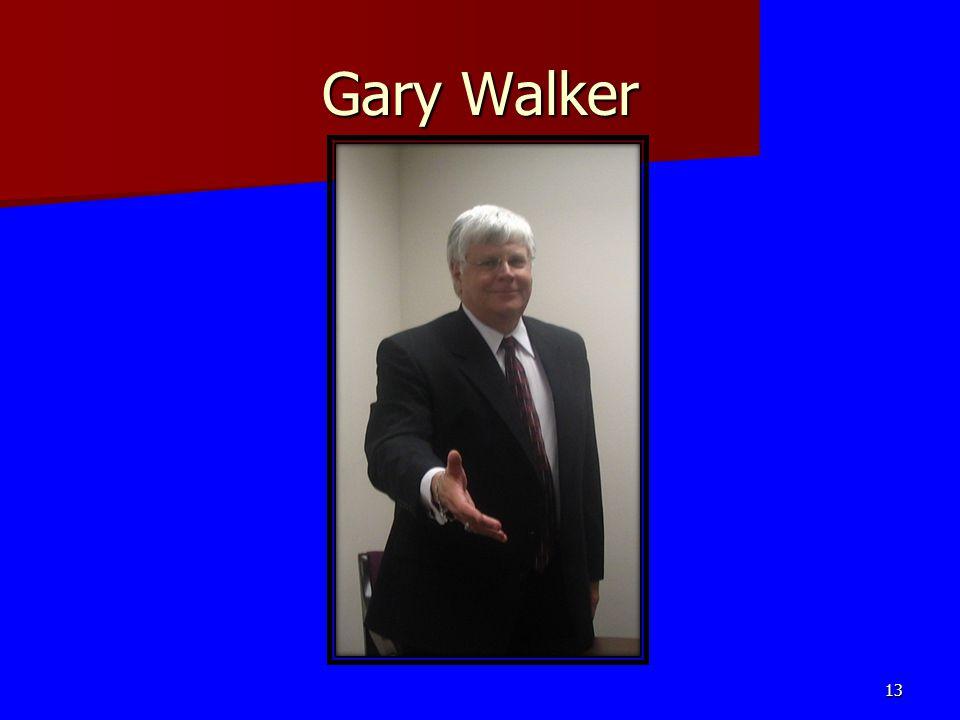 Gary Walker 13