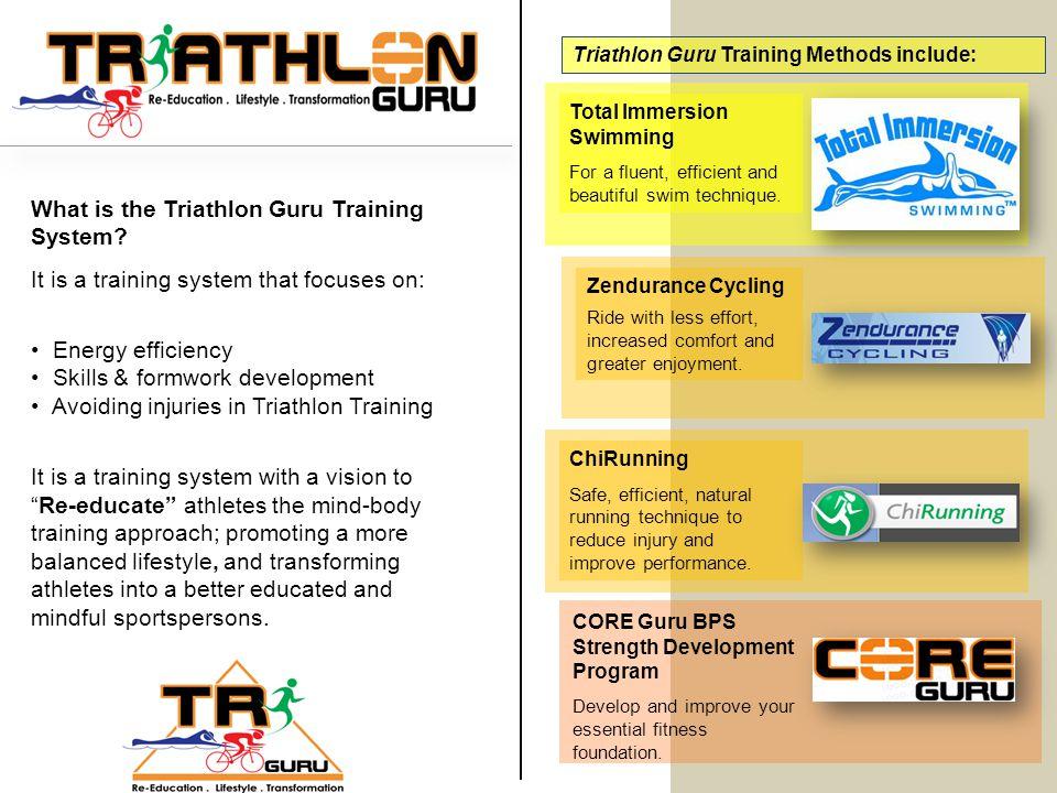What is the Triathlon Guru Training System.