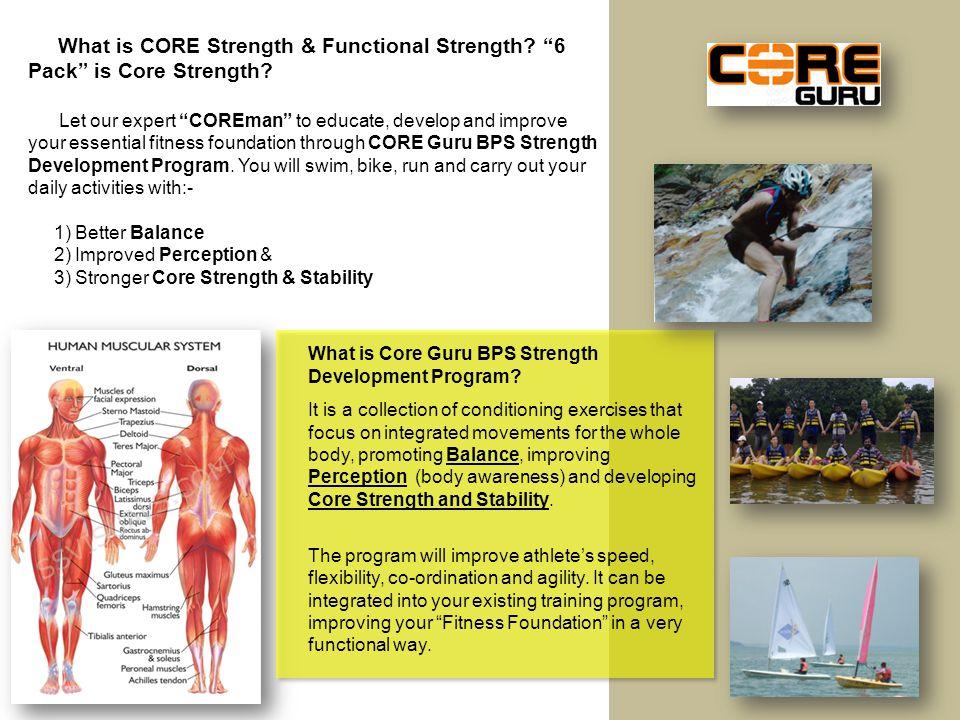 What is Core Guru BPS Strength Development Program.