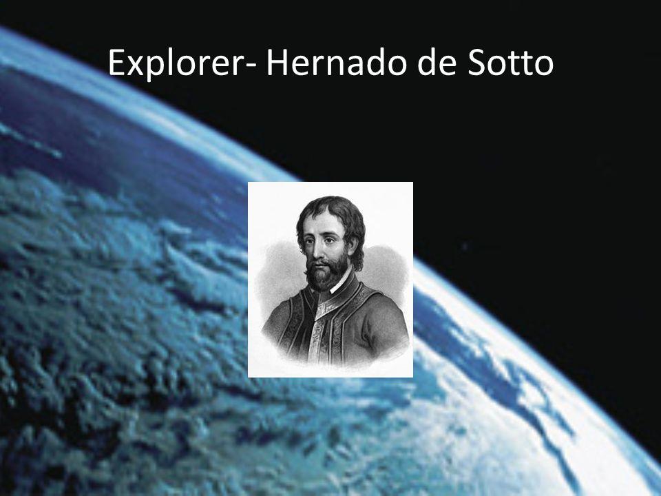 Explorer- Hernado de Sotto