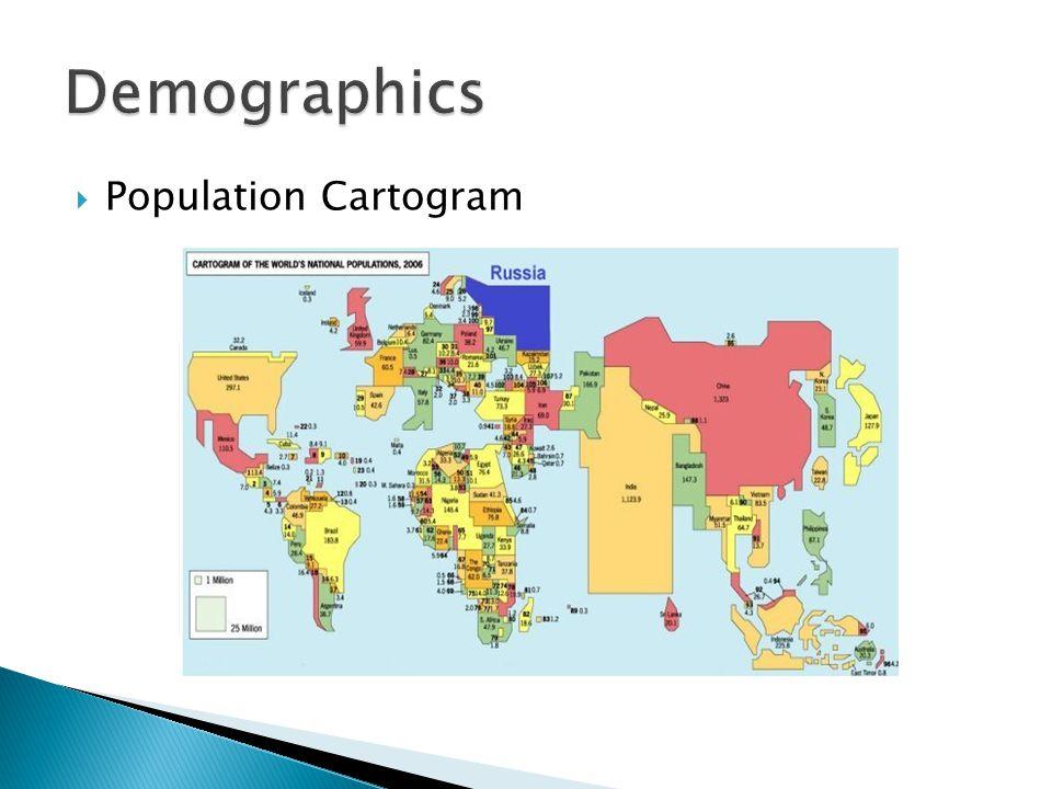 Population Cartogram