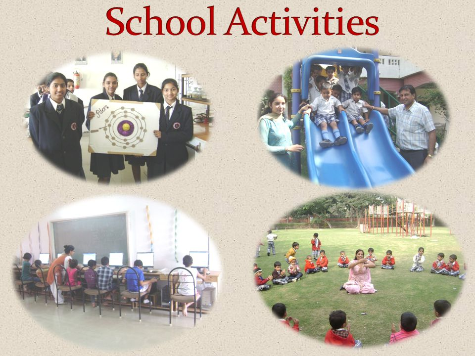 Building:- The school has a marvellous & hazard free building with well ventilated rooms. It has a well stacked Library and two play- grounds & a Bask