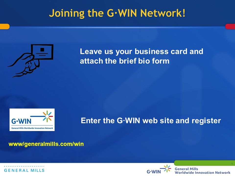Joining the G·WIN Network.
