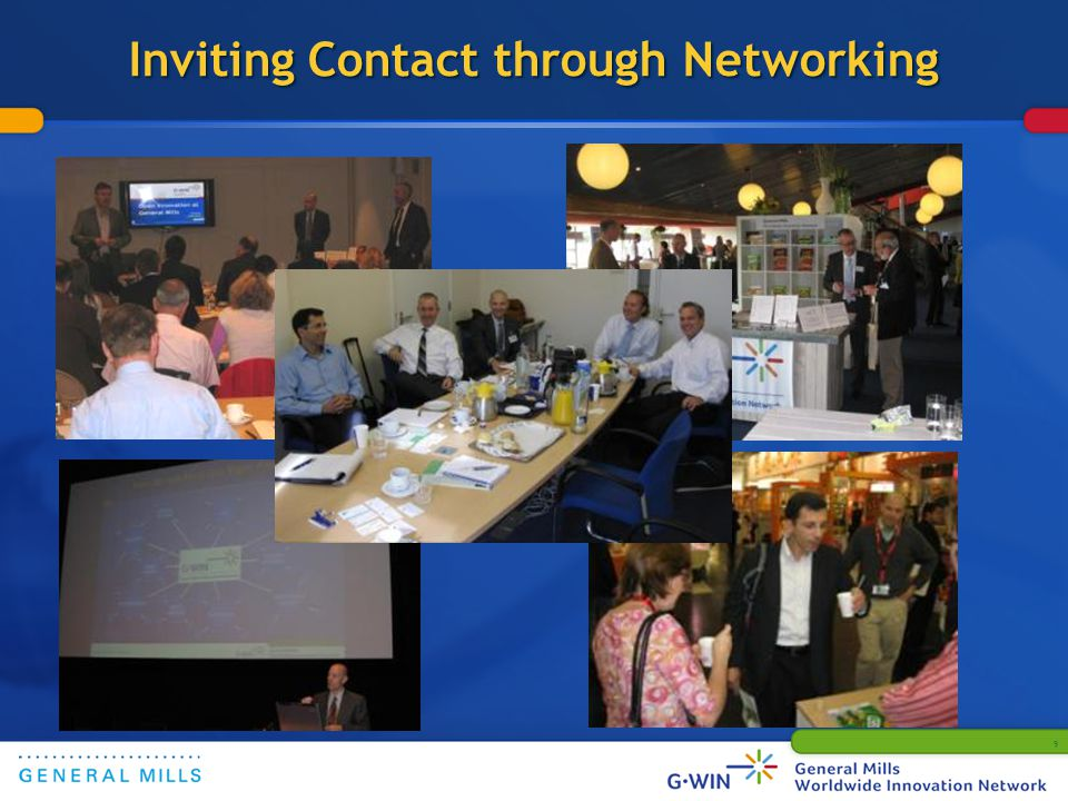 Inviting Contact through Networking 9