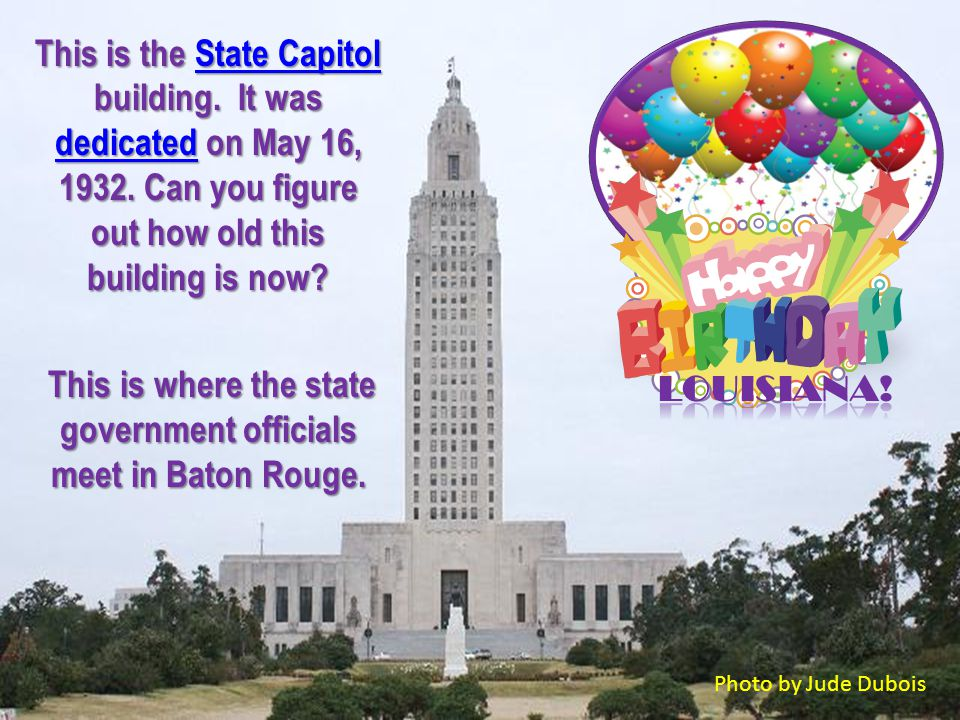 Louisiana is famous for their state festivals.