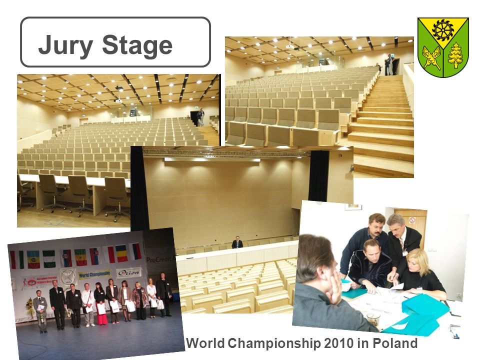 Jury Stage World Championship 2010 in Poland
