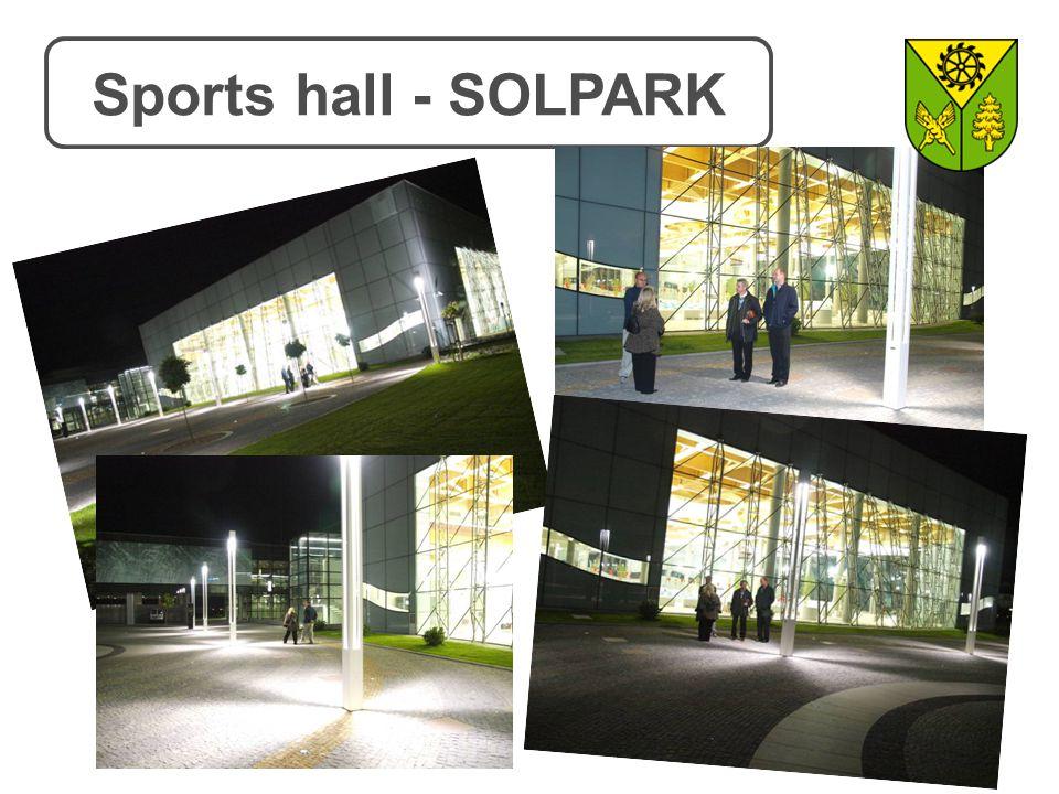Sports hall - SOLPARK