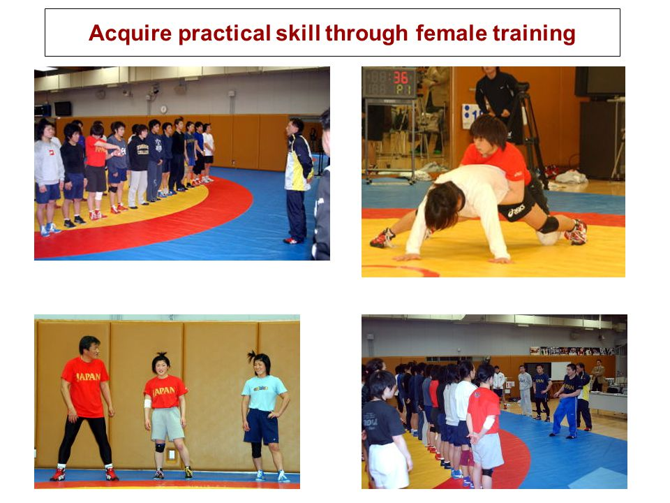 Acquire practical skill through female training