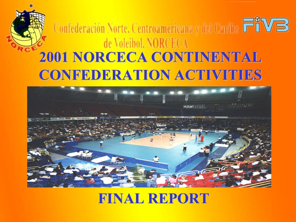SEPTEMBER NORCECA REFEREE COURSE OECS 2001 WOMENS CHAMPIONSHIPS This Championship was held in Antigua.