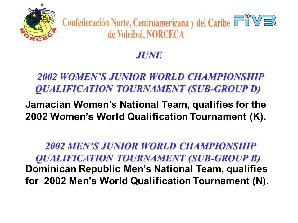 JUNE 2001 LEEWARD ISLAND CHAMPIONSHIPS Men & Women Final Results: Mens Womens 1.