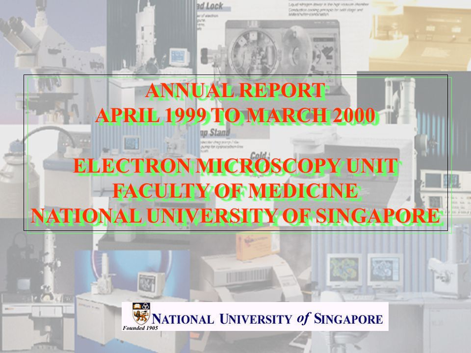 ACTIVITIES a) Publications/conference papers/dissertations/theses generated from the use of the EM Unit s facility July 1996 to March 1999 The details on the publications have been given in previous annual reports.