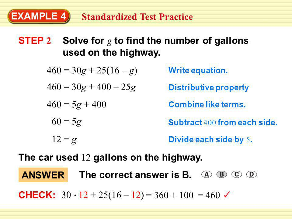 GUIDED PRACTICE for Examples 2, 3 and 4 2.