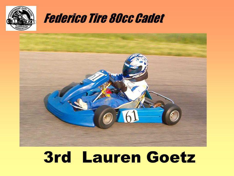 Federico Tire 80cc Cadet 3rd Lauren Goetz