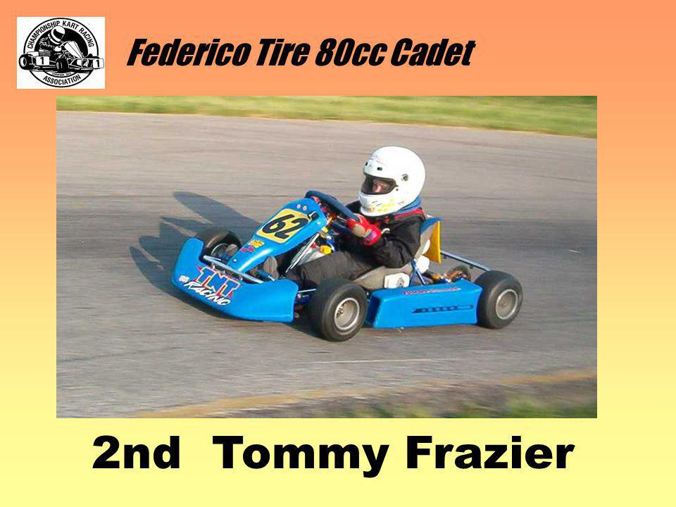 Federico Tire 80cc Cadet 2nd Tommy Frazier