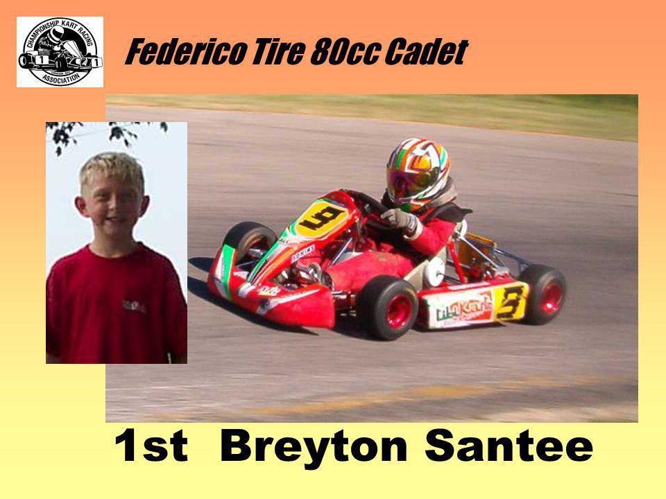 Federico Tire 80cc Cadet 1st Breyton Santee