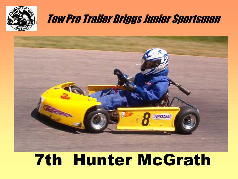 Tow Pro Trailer Briggs Junior Sportsman 7th Hunter McGrath