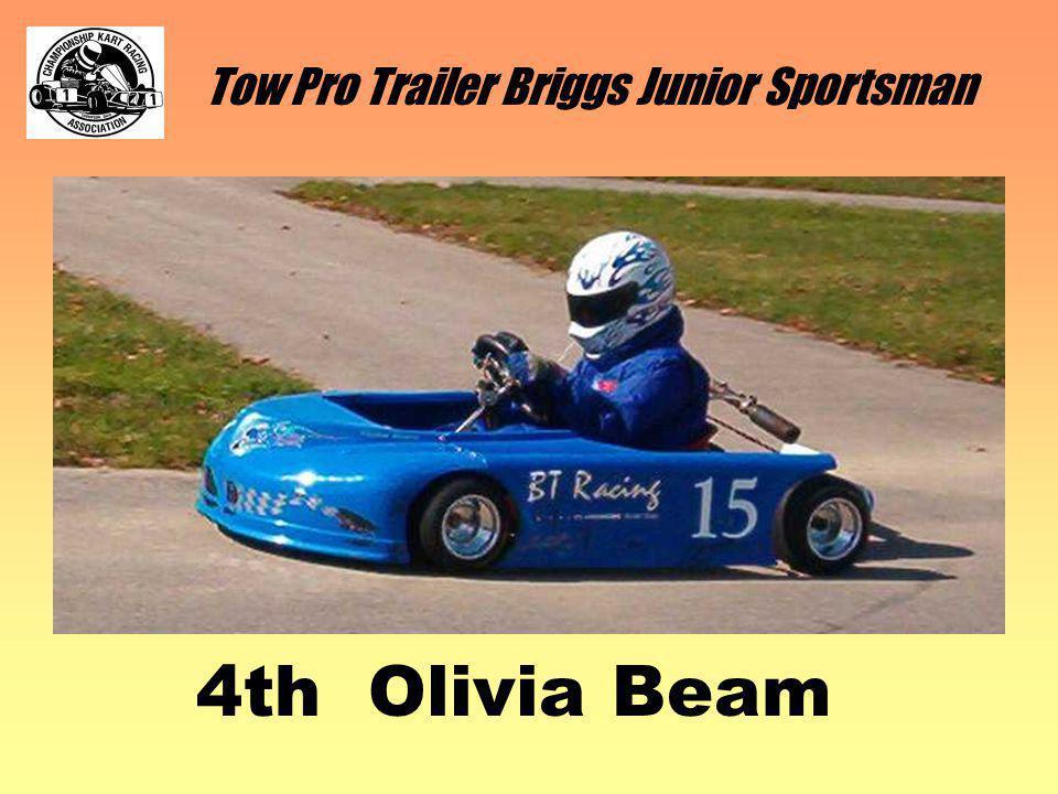 Tow Pro Trailer Briggs Junior Sportsman 4th Olivia Beam