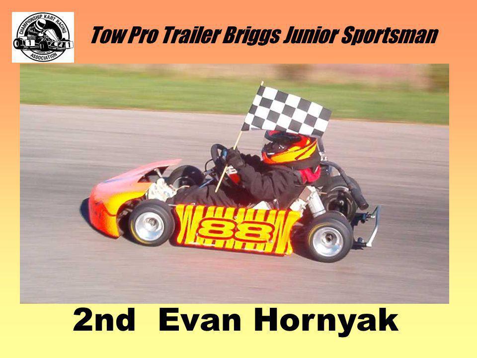 Tow Pro Trailer Briggs Junior Sportsman 2nd Evan Hornyak