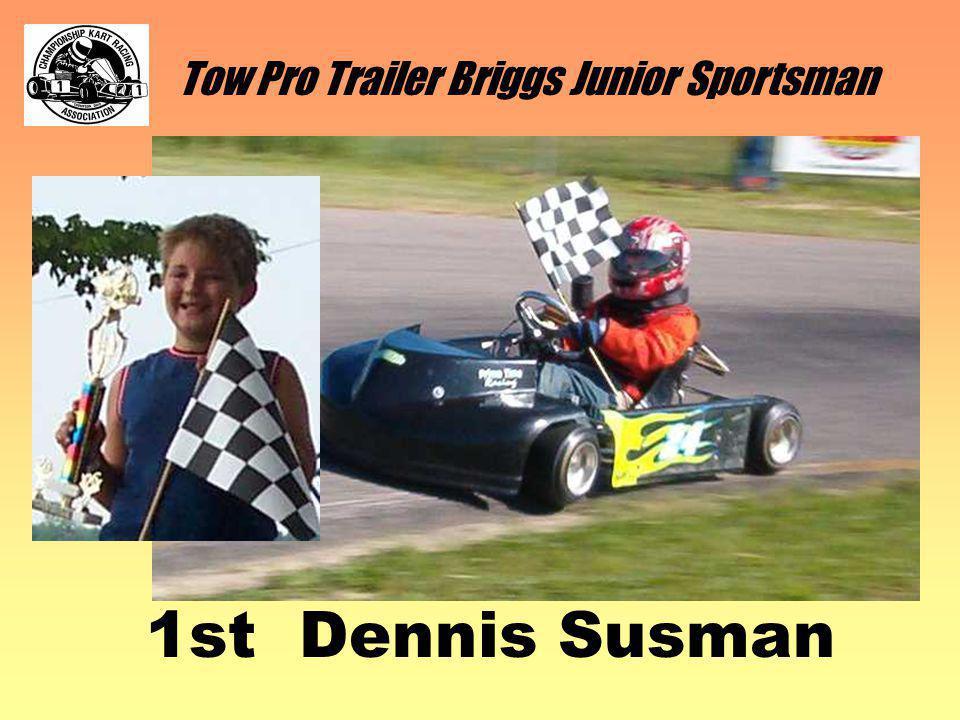Tow Pro Trailer Briggs Junior Sportsman 1st Dennis Susman