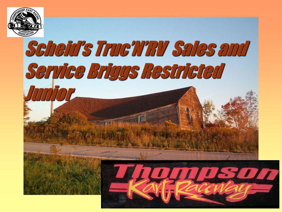 Scheids TrucNRV Sales and Service Briggs Restricted Junior