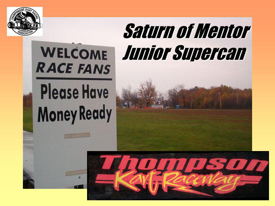 Saturn of Mentor Junior Supercan