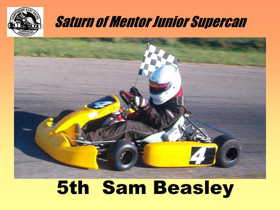 Saturn of Mentor Junior Supercan 5th Sam Beasley