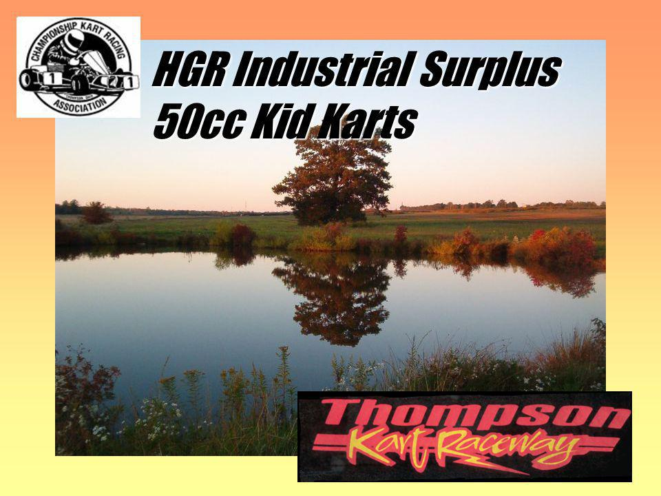 HGR Industrial Surplus 50cc Kid Karts 4 races Nick Lilly No picture available