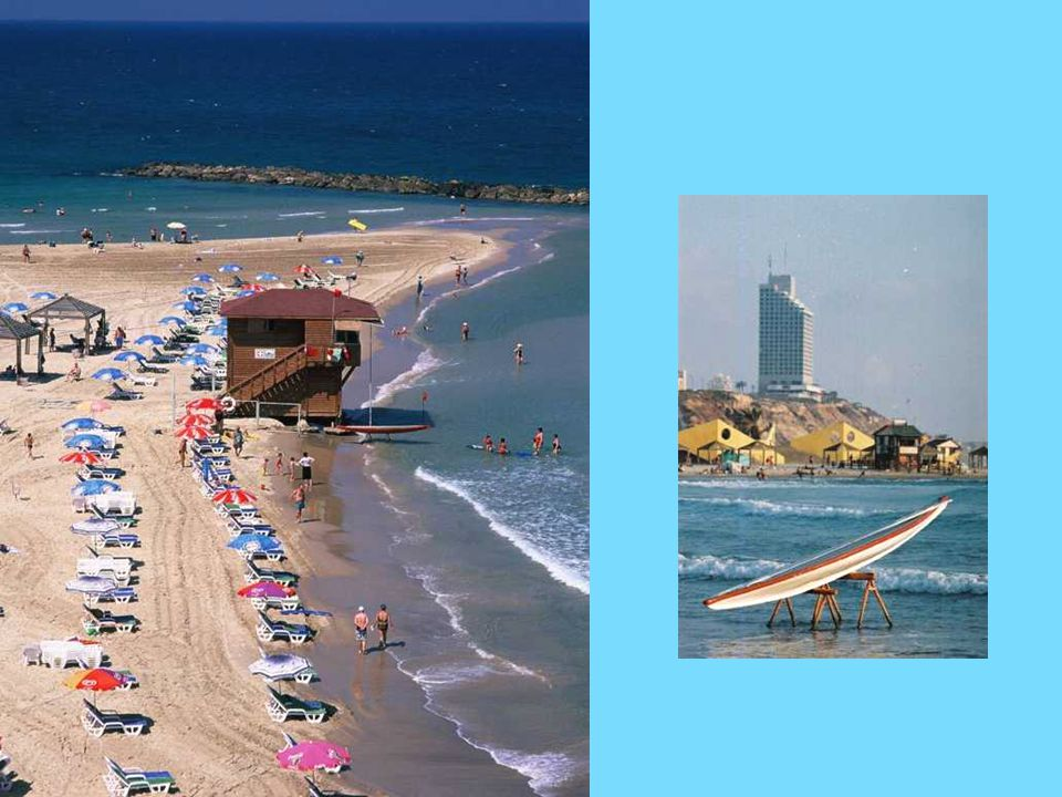 There is nothing like Netanya s 14 km of golden beaches