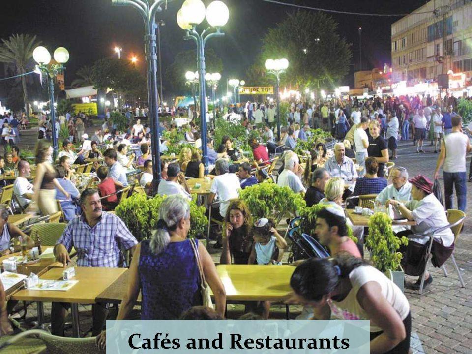 Herzl street An outdoor event at night