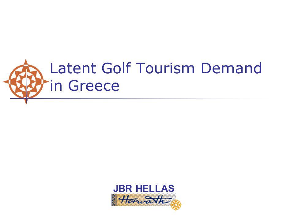 JBR HELLAS Latent Golf Tourism Demand in Greece