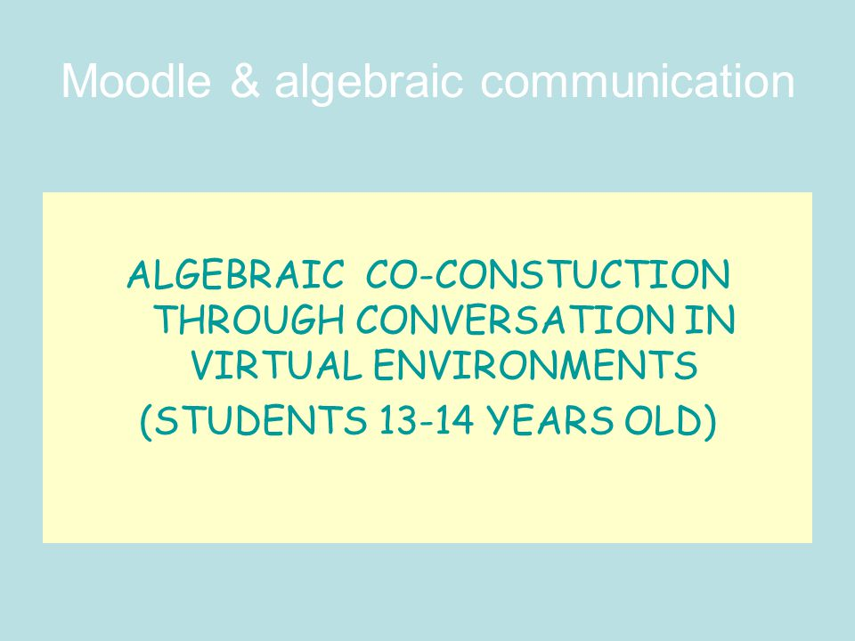 DISCUSSION Children read the interventions of their partners much more times than they write in the forum.