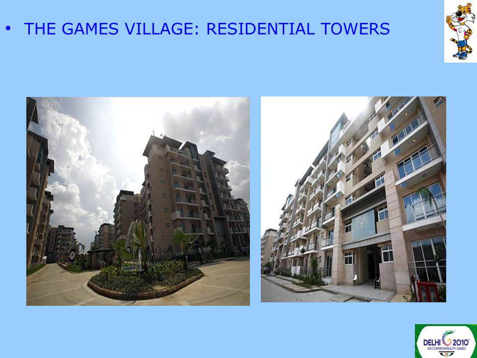 THE GAMES VILLAGE: RESIDENTIAL TOWERS