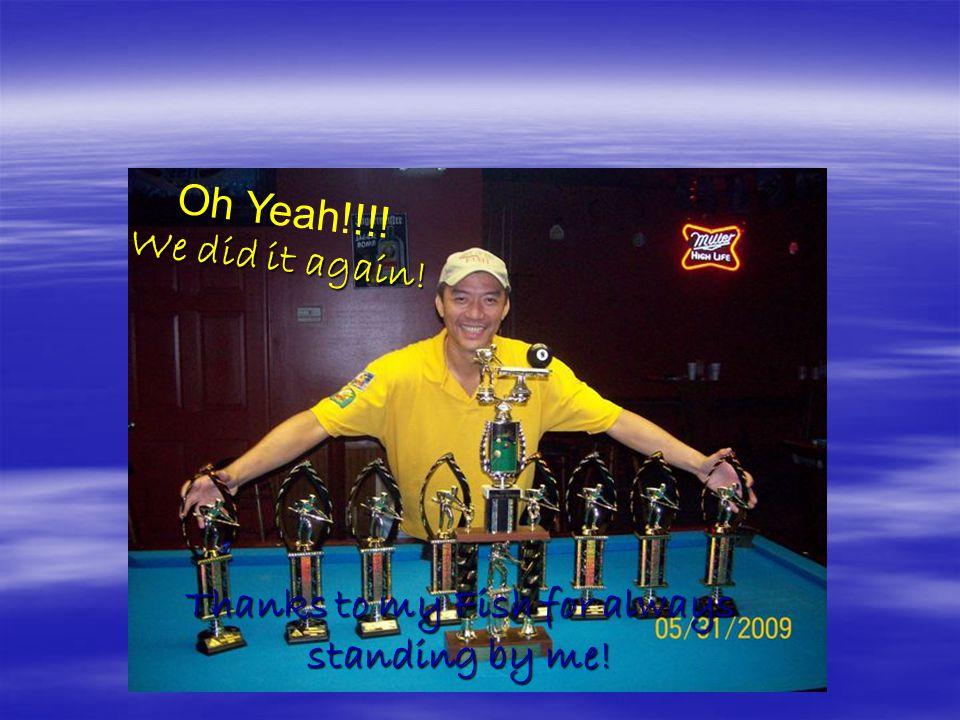Monday Night Fish wins 8-Ball CITY Championship 2009
