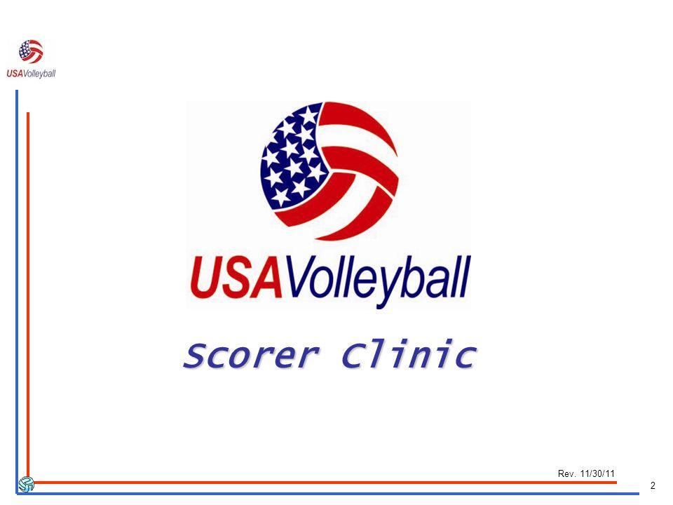 2 Scorer Clinic Rev. 11/30/11