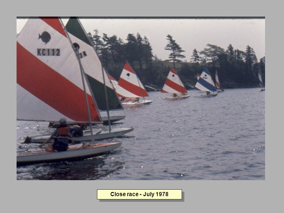Close race - July 1978