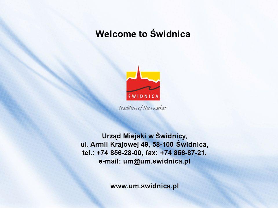 Welcome to Świdnica Urząd Miejski w Świdnicy, ul.