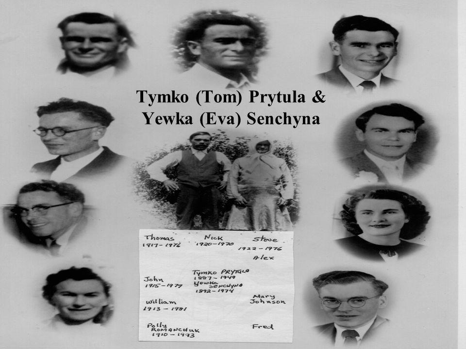 Tymko (Tom) Prytula & Yewka (Eva) Senchyna