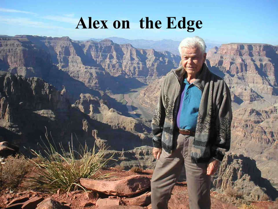 Alex on the Edge