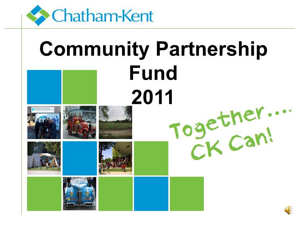 Community Partnership Fund 2011