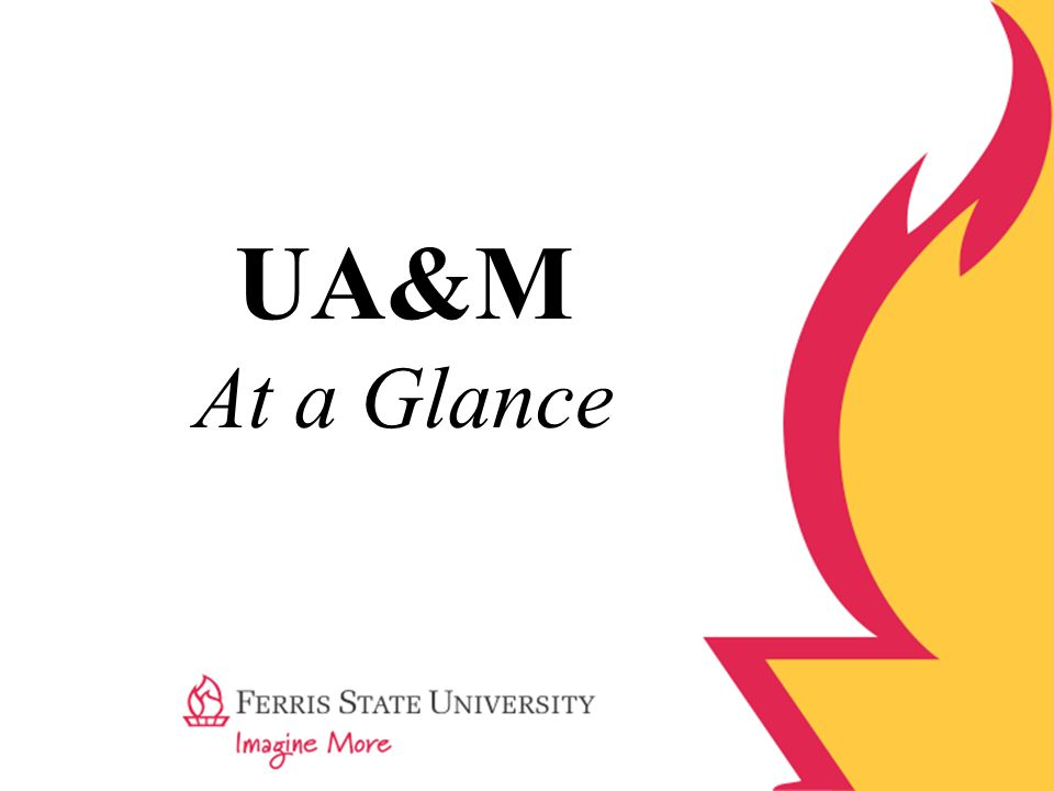 UA&M At a Glance