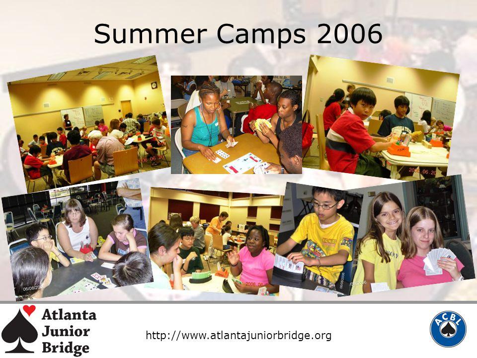 http://www.atlantajuniorbridge.org Summer Camps 2006