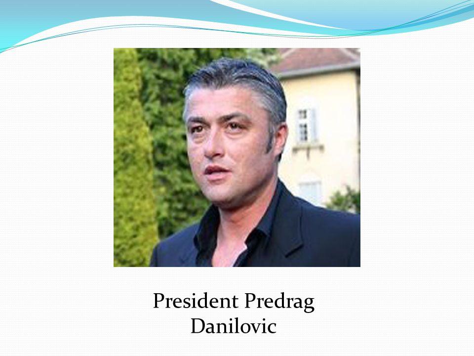President Predrag Danilovic