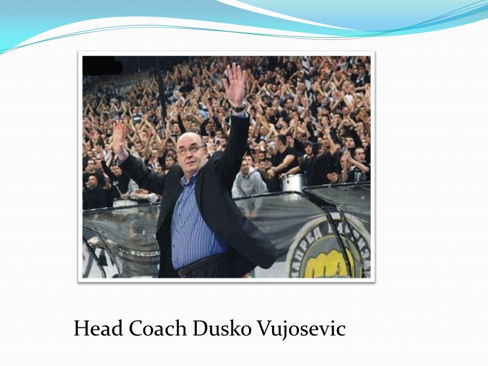 Head Coach Dusko Vujosevic