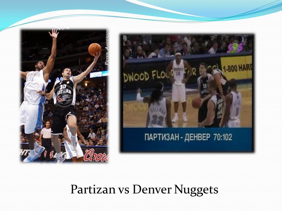 Partizan vs Denver Nuggets