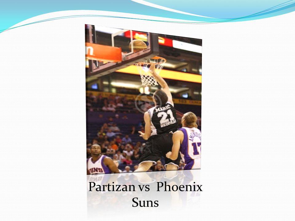 Partizan vs Phoenix Suns