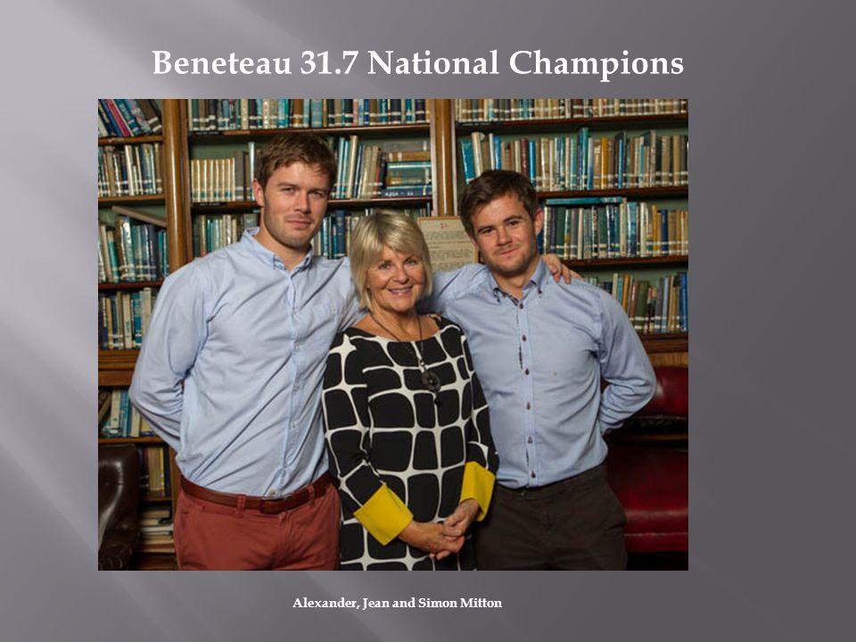Beneteau 31.7 National Champions Alexander, Jean and Simon Mitton