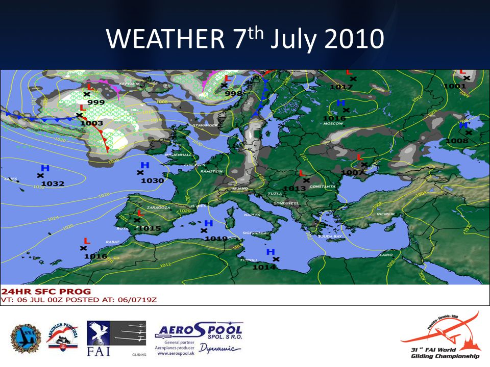 WEATHER 7 th July 2010