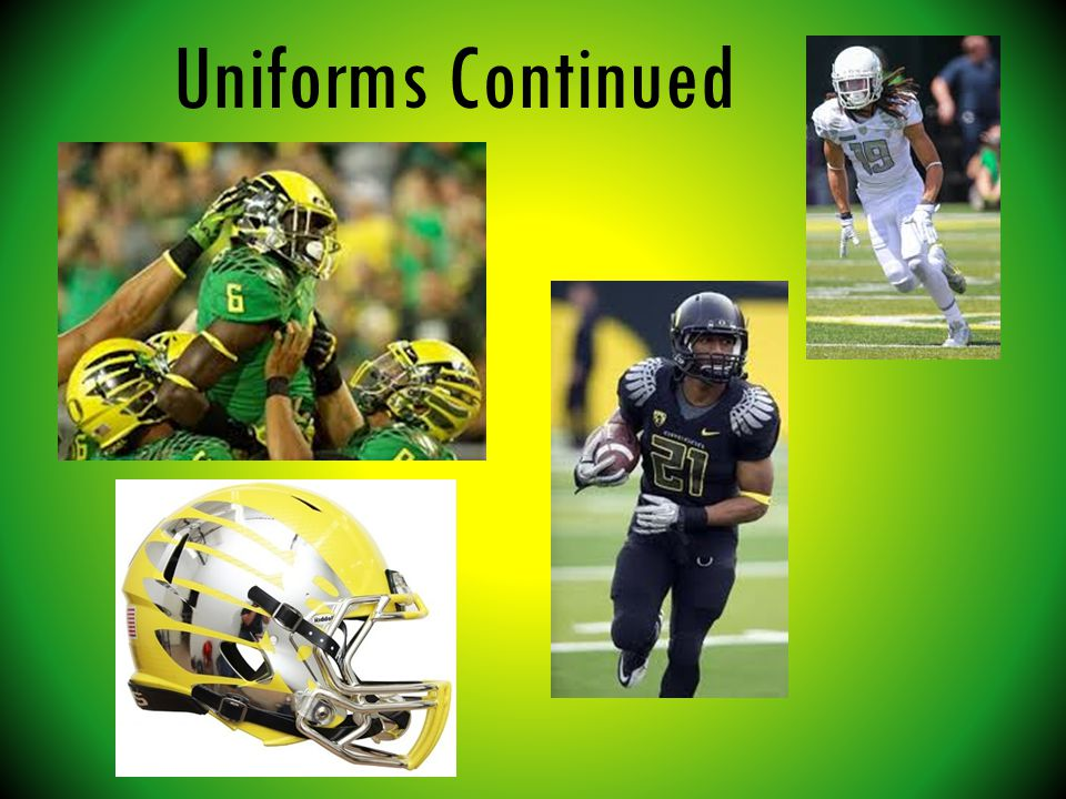 Uniforms Continued